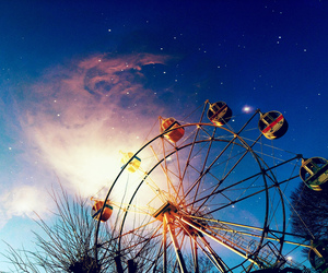 ferris wheel and photography image