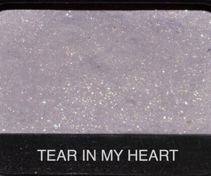 eyeshadow, nars, and tear in my heart image