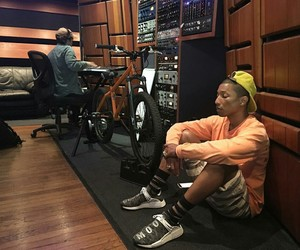 music, pharell williams, and relax image