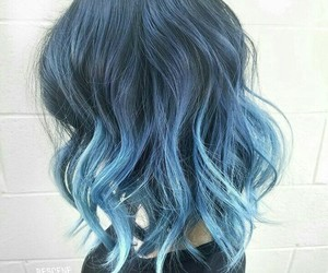 blue, color, and hair image