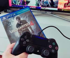 playstation, ps4, and uncharted4 image