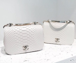 chanel, accessories, and white image