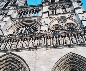 architecture, cathedral, and france image