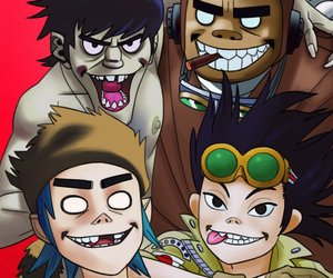 2d, bands, and clint eastwood image