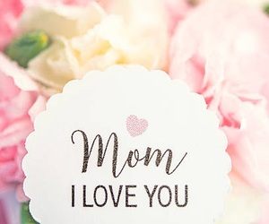 flower, mom, and mother'sday image