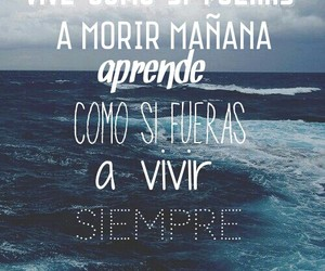 azul, frases, and mar image