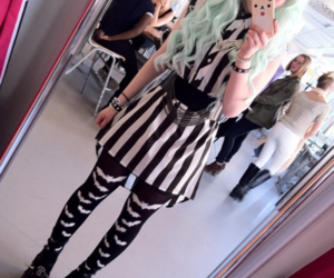 pastel goth, kawaii, and pastel image