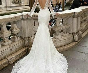 bride, vestido de novia, and dress image