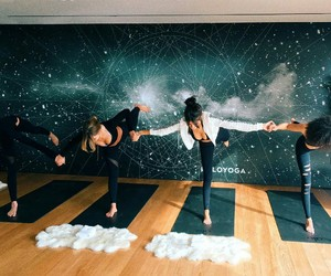 fitness, yoga, and madison beer image