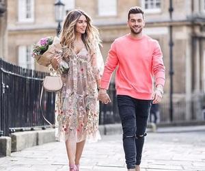fashion, flowers, and youtube image