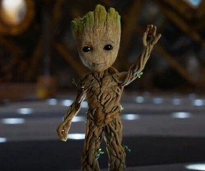 groot, Marvel, and guardians of the galaxy image