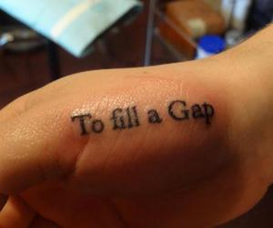 ink, tattoo, and GAp image
