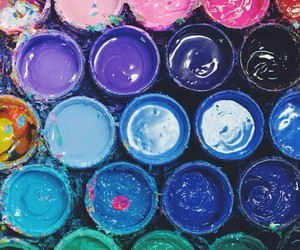 paint, colors, and wallpaper image