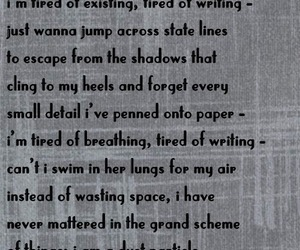 breathing, my poetry, and poetsoftumblr image
