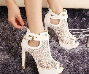 fashion, gorgeous, and heels image