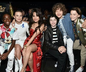 camila cabello and stranger things image
