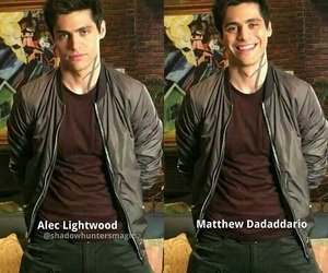 it's, alec lightwood, and shadowhunters image