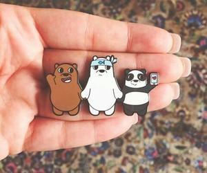 panda, cute, and we bare bears image