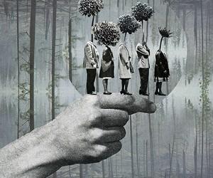 art, Collage, and caro ma image