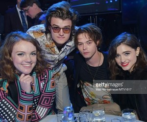 stranger things, charlie heaton, and shannon+purser image