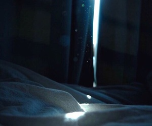 bed and light image