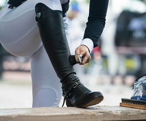 competition, equestrian, and riding boots image