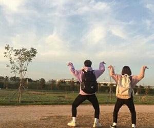 couple, boy, and korean image