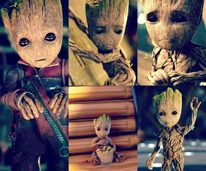 baby groot and groot image