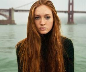 beautiful, ocean, and dark hair image