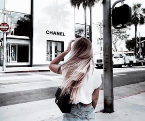 fashion, chanel, and hair image
