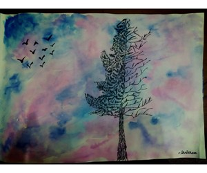 watercolor painting image