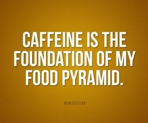 caffeine, coffee, and food pyramid image