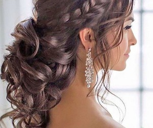 hair, Prom, and cute image