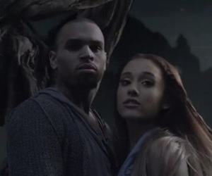 chris brown, ariana grande, and music image