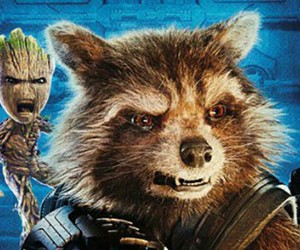 Marvel, groot, and guardians of the galaxy image
