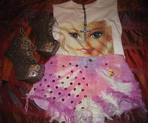 barbie, clothes, and shorts image