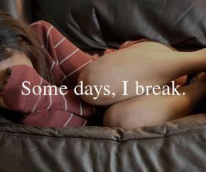 break and give up image