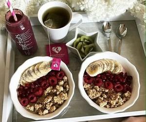 breakfast, morning, and muesli image