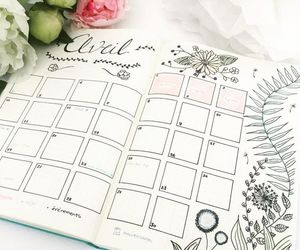 april, flowers, and inspiration image