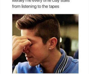 13 reasons why, funny, and tapes image