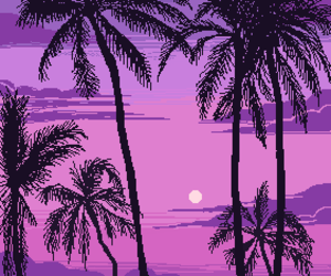 aesthetic, art, and pixel image