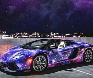 beautiful, car, and galaxy image