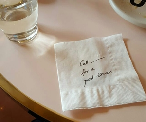 quotes, aesthetic, and napkin image