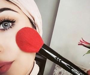 girl, hijab, and hijabista image