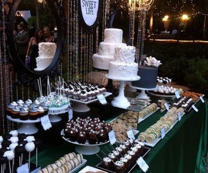 candy bar, sweet 18, and wedding image