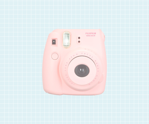 pastel, polaroid, and camera image