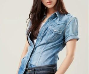 korean girl, kim ji won, and k actress image