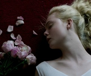 the neon demon, Elle Fanning, and aesthetic image