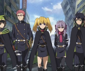 best friends, squad, and owari no seraph image