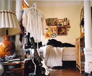 vintage, room, and bedroom image